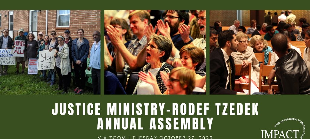 Justice Ministry / Rodef Tzedek Annual Assembly